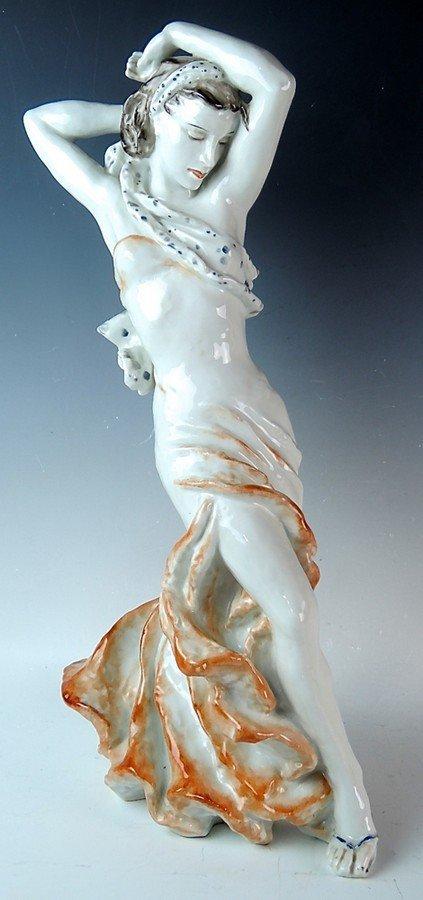 Large Rosenthal Porcelain Spanish Dancer Figurine