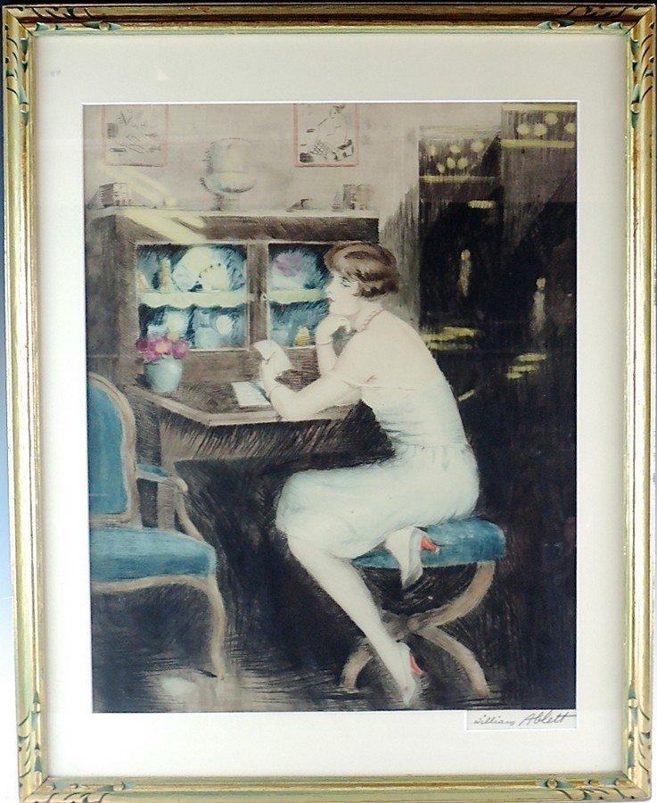 William Ablett Original Aquatint