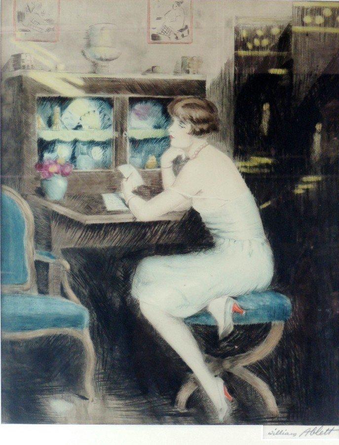 William Ablett Original Aquatint - 2
