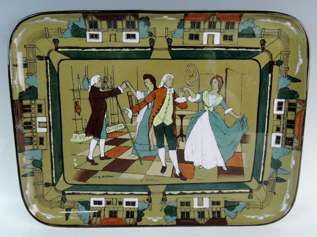 Rare Buffalo Pottery Deldare Ware Teaset - 3