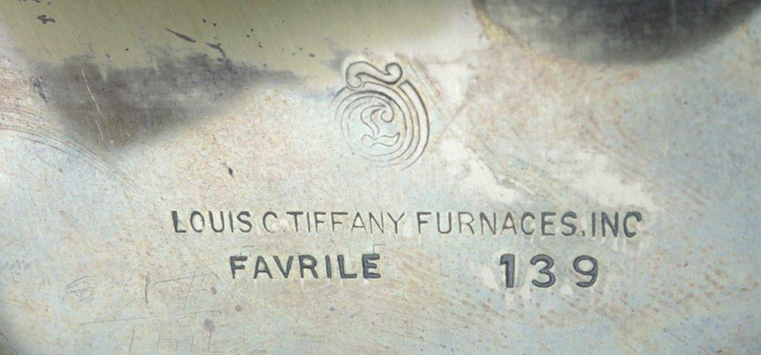 Louis C Tiffany Furnaces Enamel Box - 4