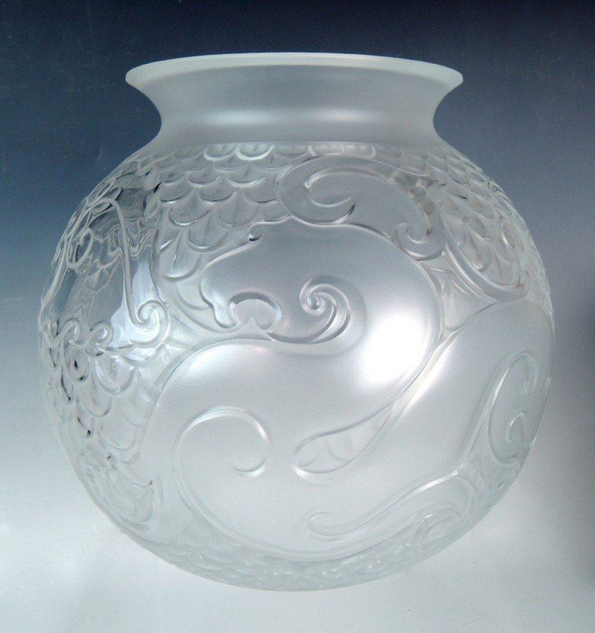 Lalique Xian Vase w Original Box