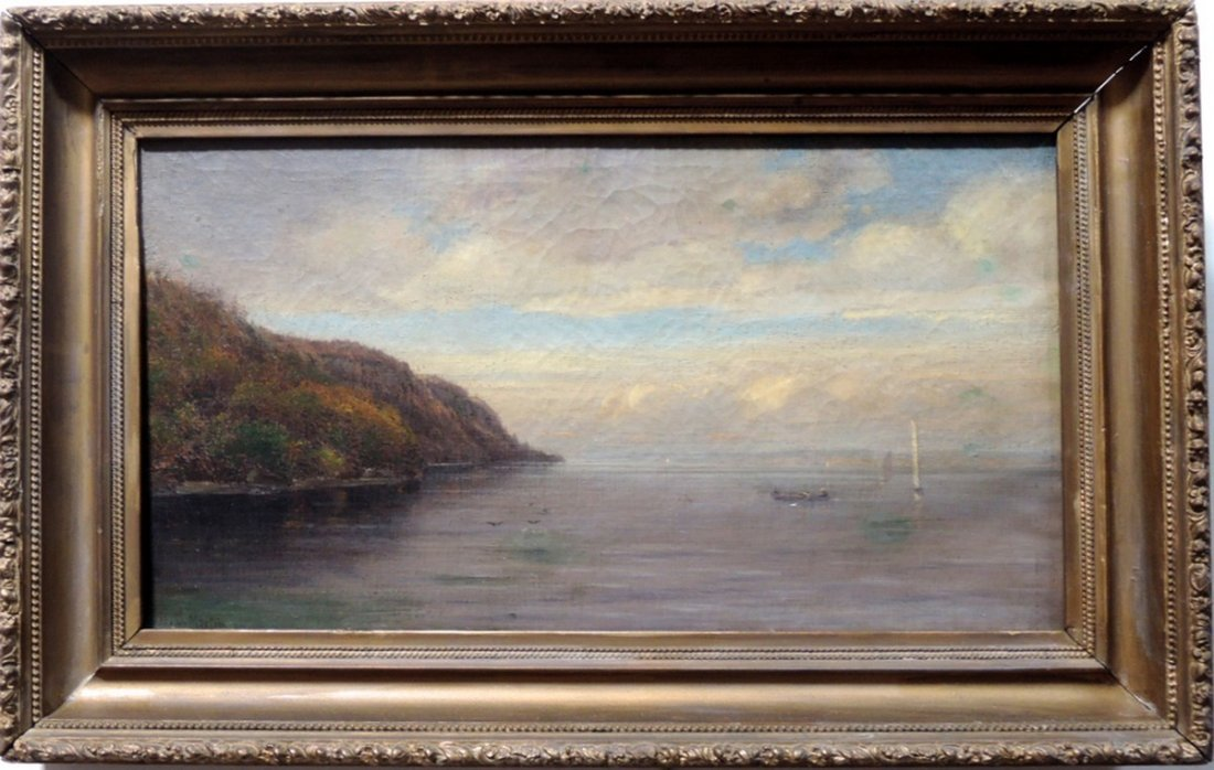 Homer Dodge Martin Hudson River Painting