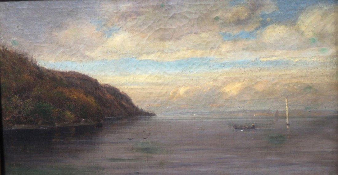 Homer Dodge Martin Hudson River Painting - 2