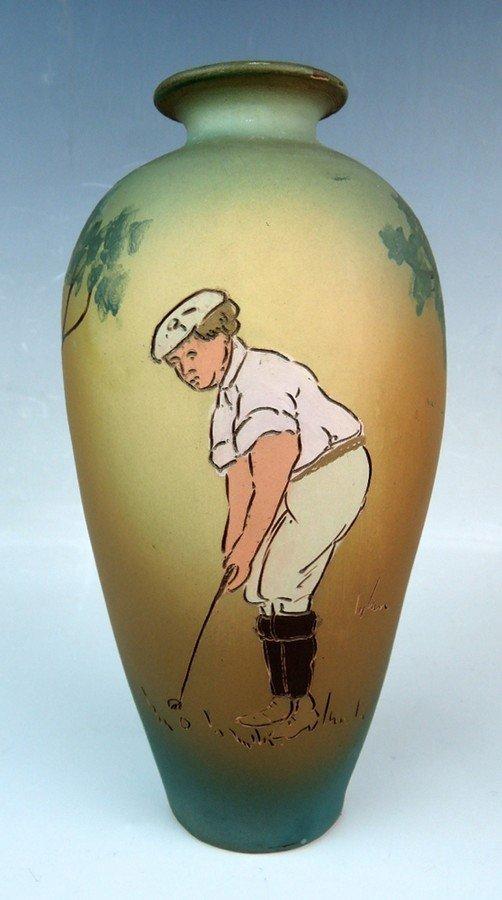 Weller Dickensware Golfer