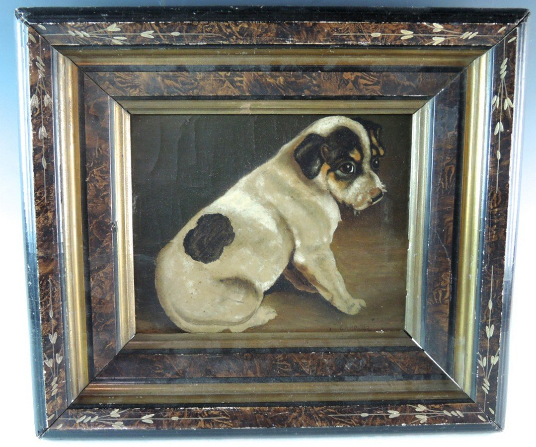 E.H. Holder Painting of Jack Russell Dog - 2
