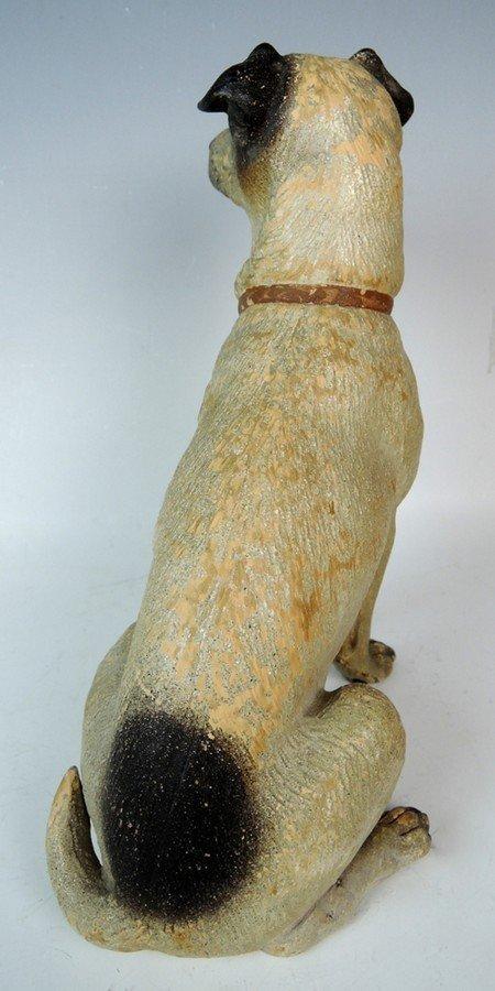 Austrian Terracotta Jack Russell Dog Figurine - 4