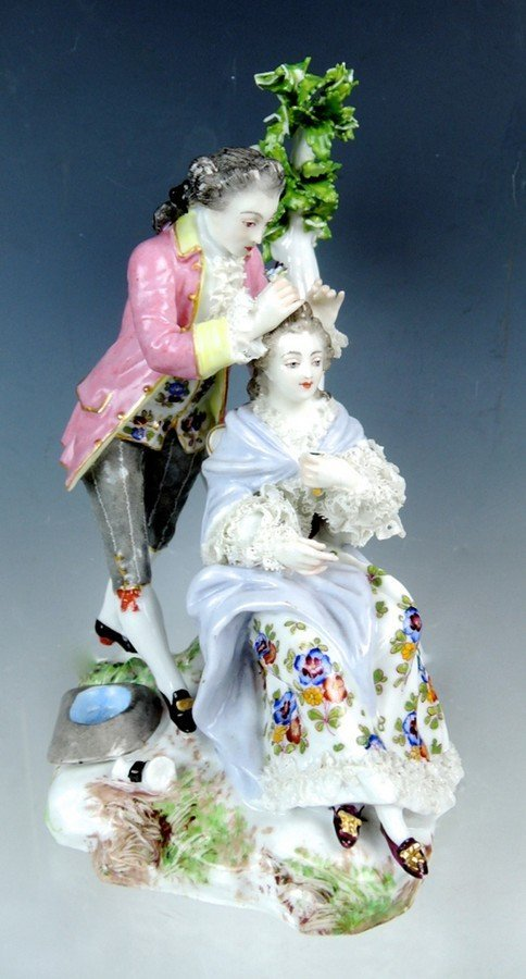 Meissen Style Figural Group