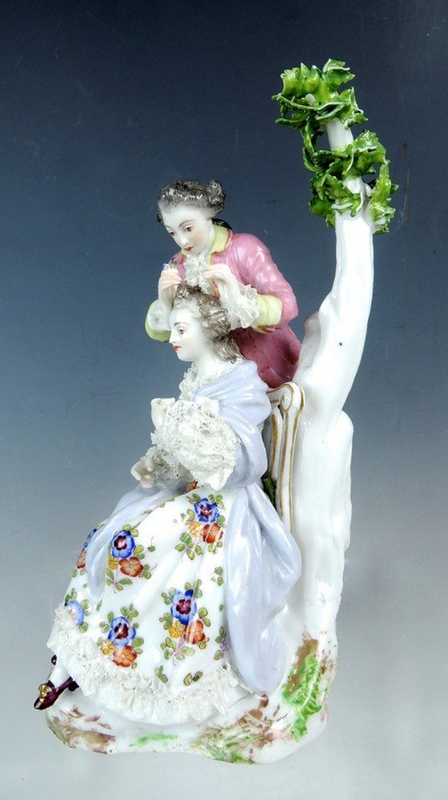 Meissen Style Figural Group - 3