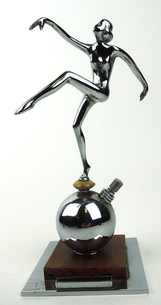 3 Art Deco Nude Lighters - 2