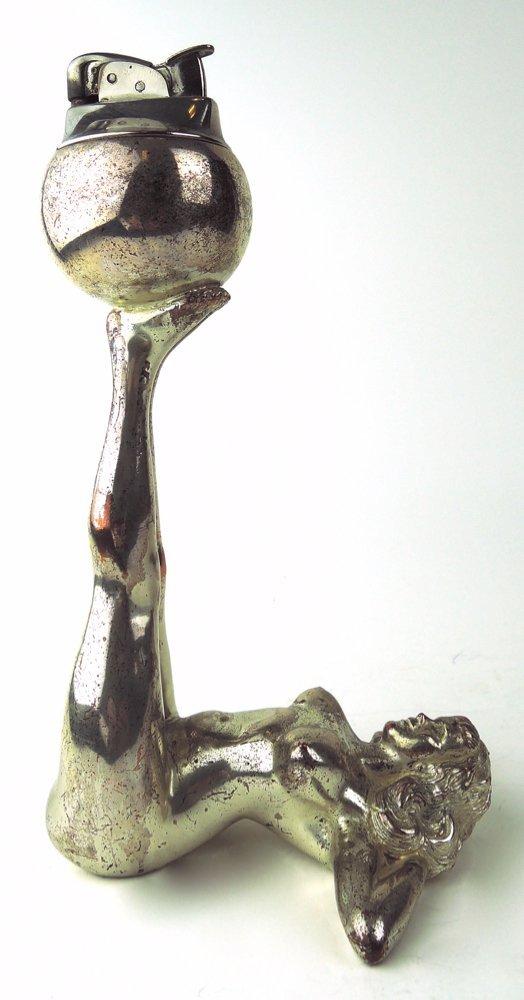3 Art Deco Nude Lighters - 4