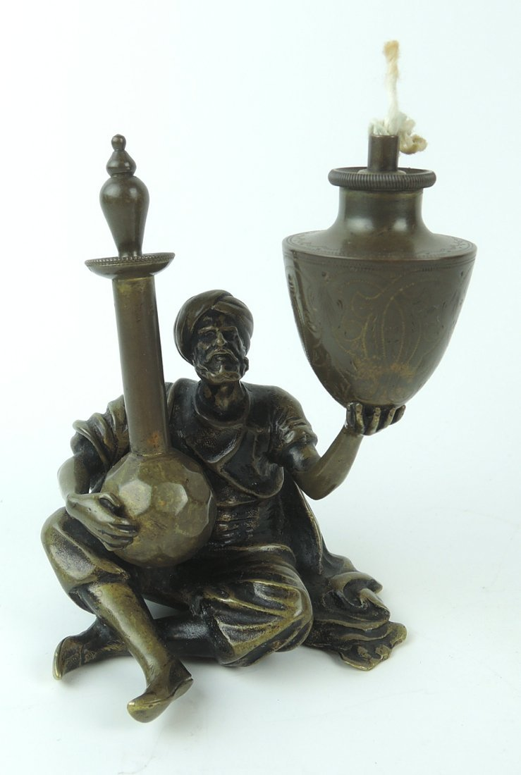 Bronze Bedouin Merchant Cigar Lighter