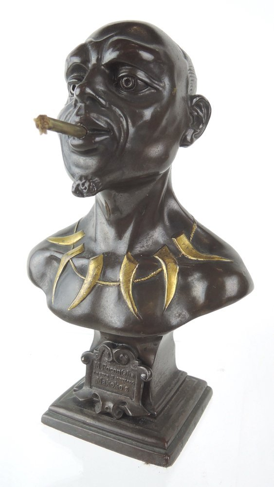 Rare African Chiefton Cigar Lighter