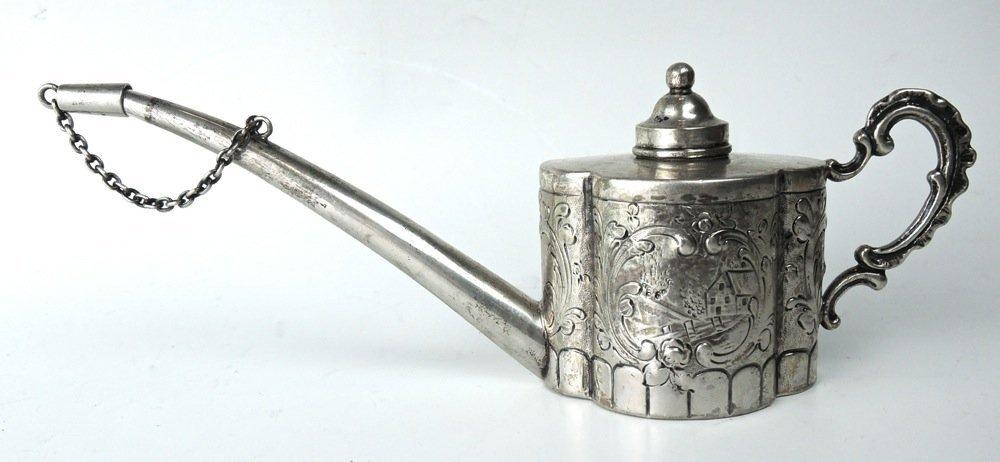 Sterling Silver Oil Can Cigar Lighter