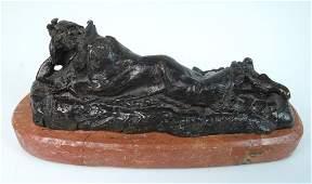 Sgd Kauba Austrian Bronze of Indian
