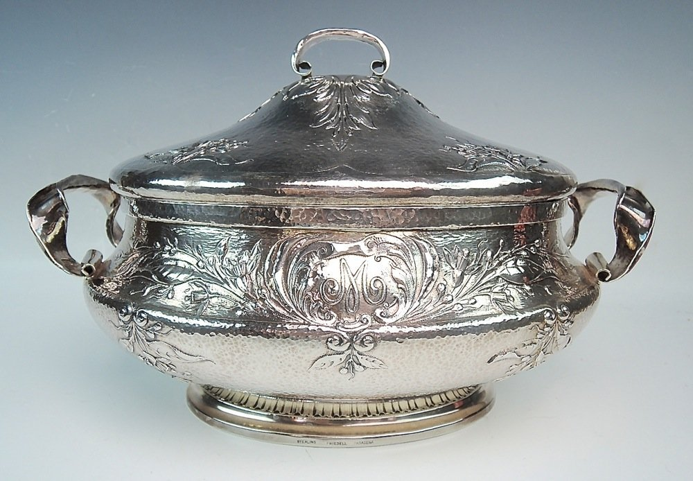 Clemens Friedell, Important Sterling Lidded Tureen