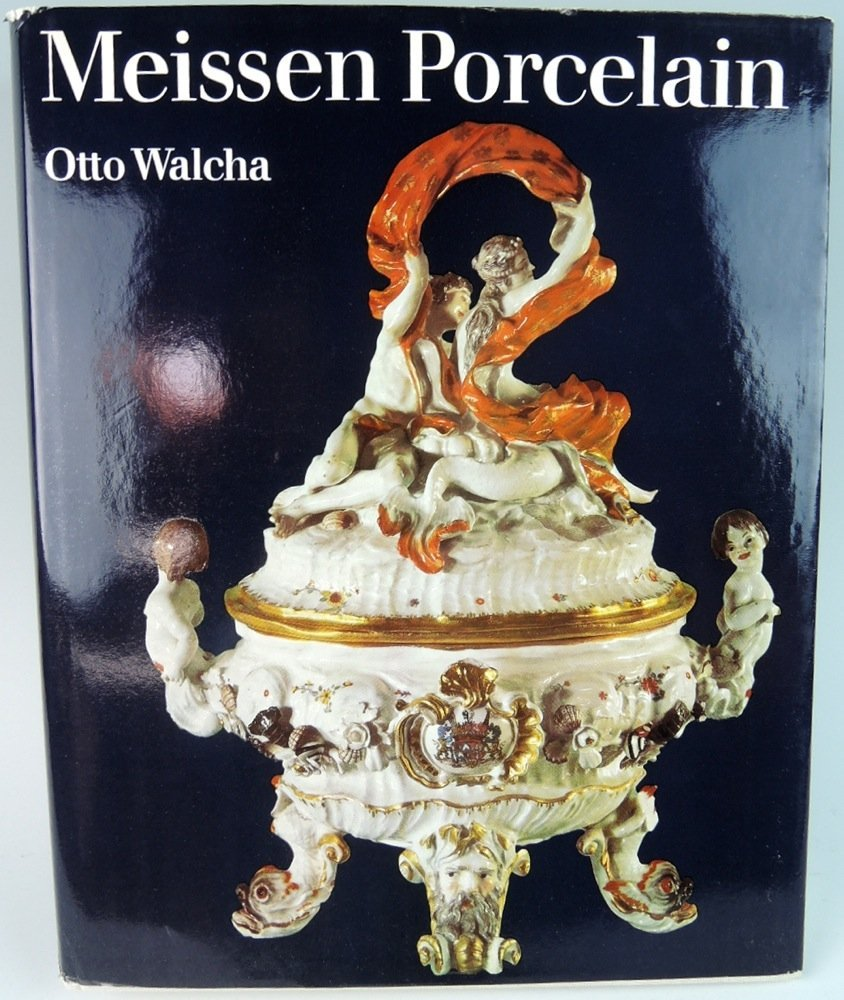 Meissen Porcelain book by Otto Walcha w/box