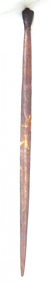 African Antique Cermonial Staff (Part of a Private