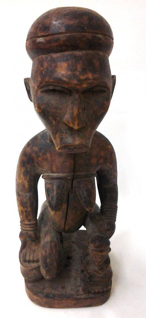 African Antique Fertility Statue  (Part of a Private
