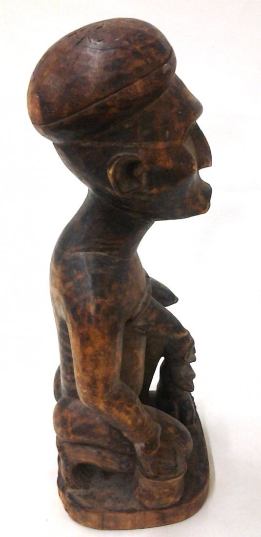 African Antique Fertility Statue  (Part of a Private - 2