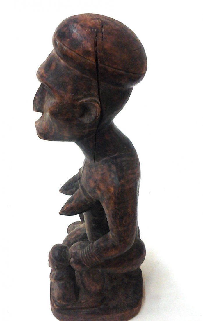 African Antique Fertility Statue  (Part of a Private - 4