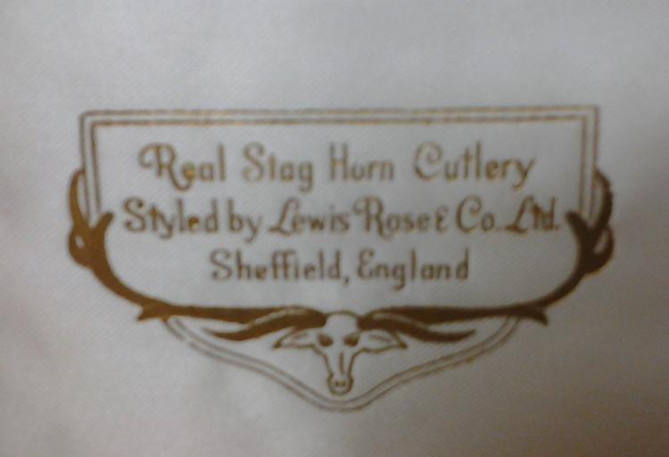 Antique English Sheffield Cutlery Lewis Rose & Co. Ltd - 5