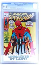 Vintage Comic Book Certified & Encased by CGC(179)