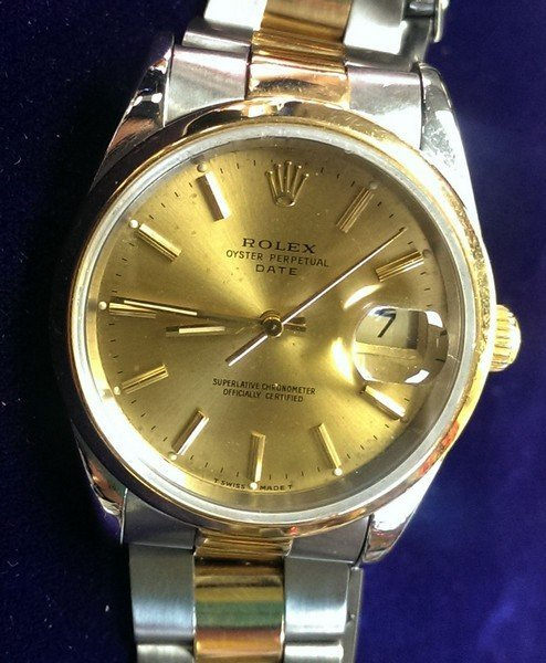 Investment: Pre-Owned Men's Rolex Watch