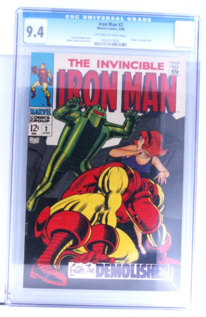 Vintage Comic Book Certified & Encased by CGC (31) IRON