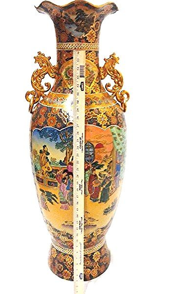 "Important Antique 42"" Chinese Porcelain Ware Made for"