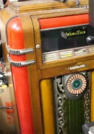 Vintage Art Deco c1930 Wurlitzer Jukebox Model 600