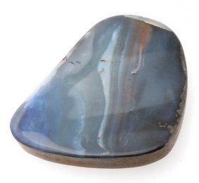 Certified Large Australian Opal Boulder 50x46mm, 33.40