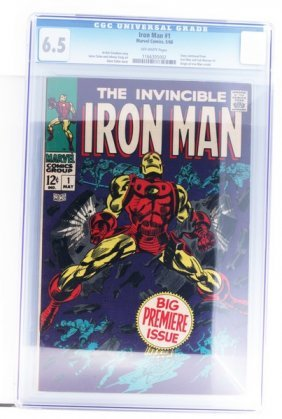 Vintage Comic Book Certified & Encased By Cgc(30) Iron