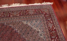 Vintage Fine Persian Wool Rug 14x10 Feet