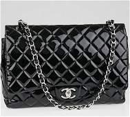 Authentic Chanel Black Maxi