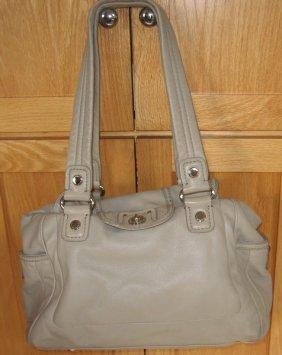 Marc Jacobs Leather Sand Color Handbag Purse