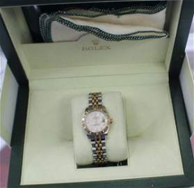 Rolex All Original w. Box & Manual Oyster Pertual