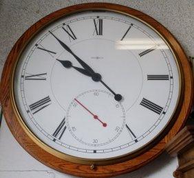 "Howard Miller Xxl Rare Vintage Wall Clock 42"", 40-lbs"