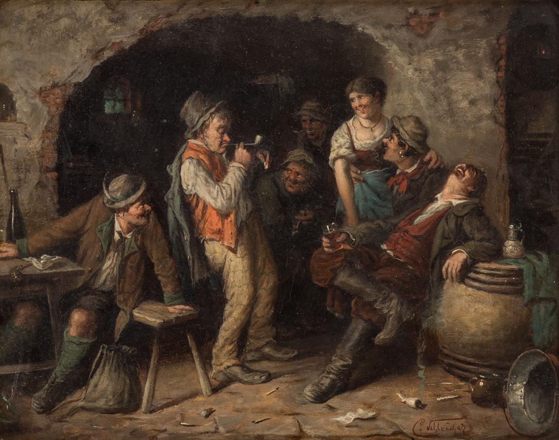 CARL SCHLEICHER (AUSTRIAN 1825-1903)