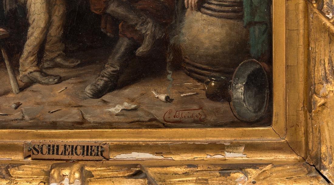 CARL SCHLEICHER (AUSTRIAN 1825-1903) - 3