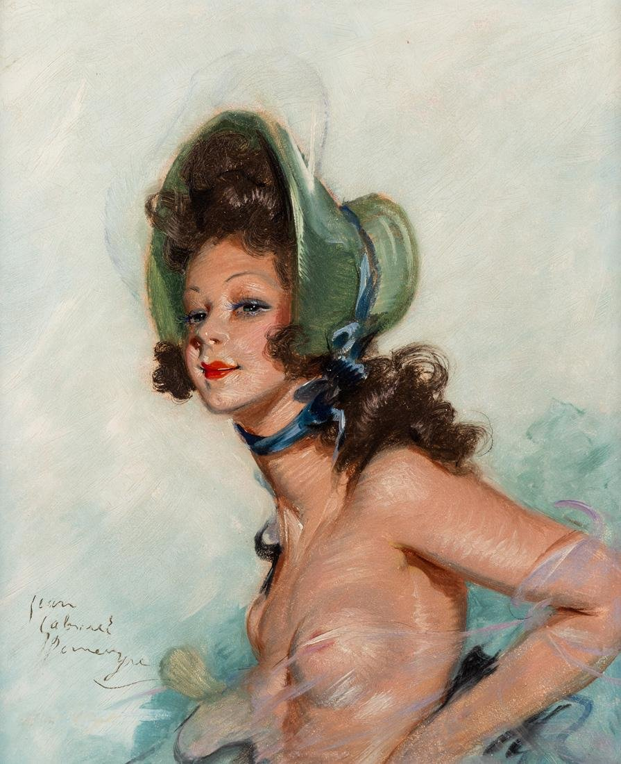 JEAN-GABRIEL DOMERGUE (FRENCH 1889-1962)