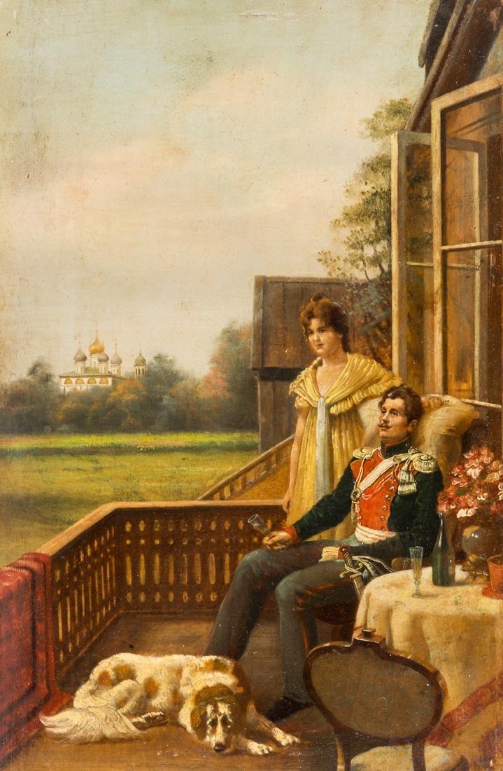 VASILIY MAKSIMOVICH MAKSIMOV (RUSSIAN 1844-1911)