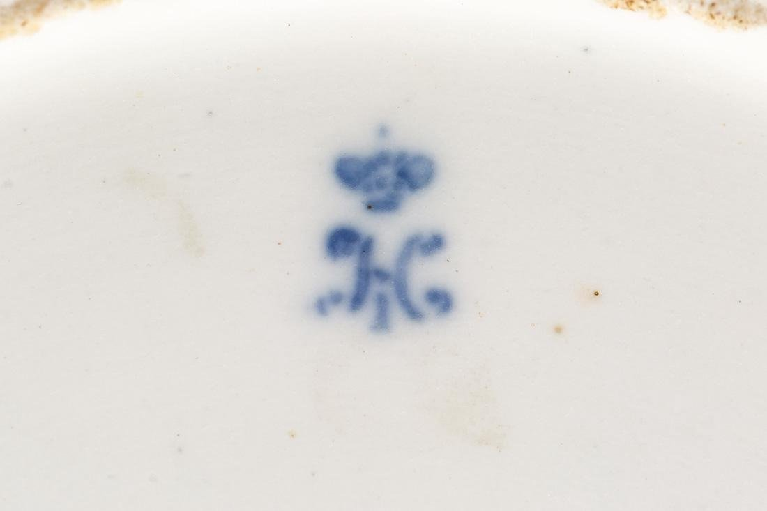 A RUSSIAN IMPERIAL PORCELAIN PLATE, RUSSIAN IMPERIAL - 3