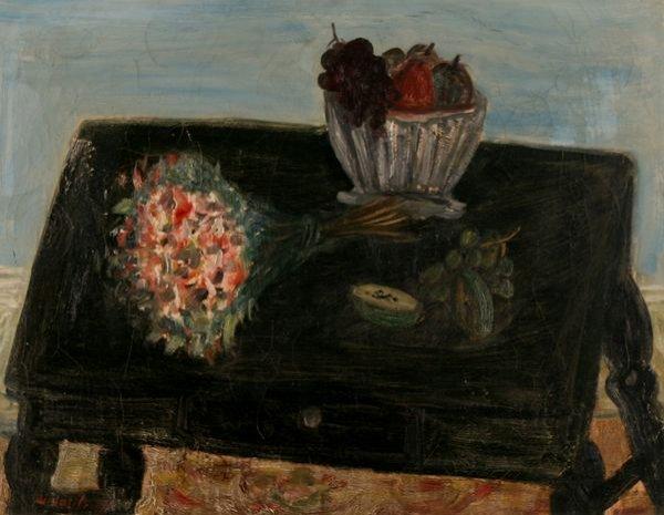 29: NICOLAI VASSILIEFF Russian Oil Painting Still Life