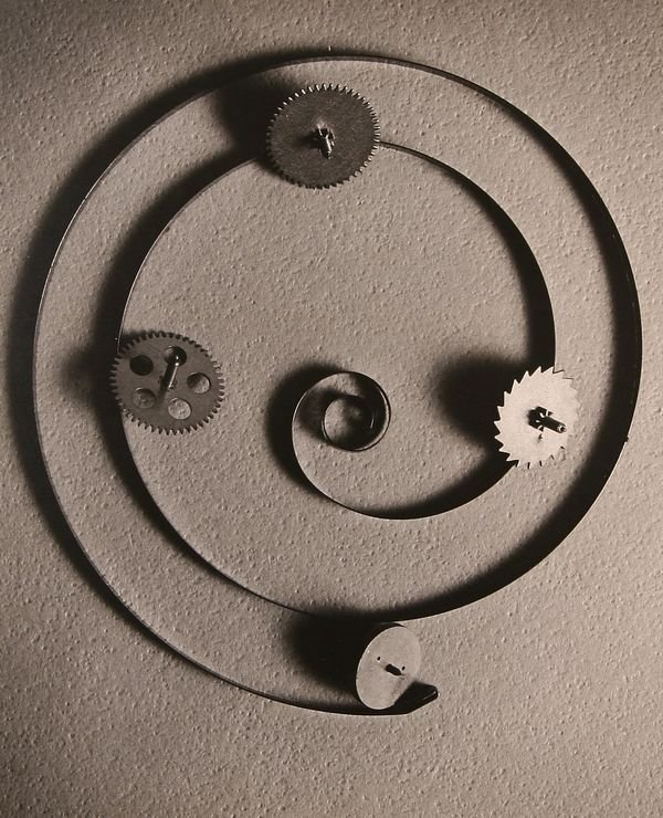 378: VICTOR KRANTZ American 20TH C Photograph Clockwork