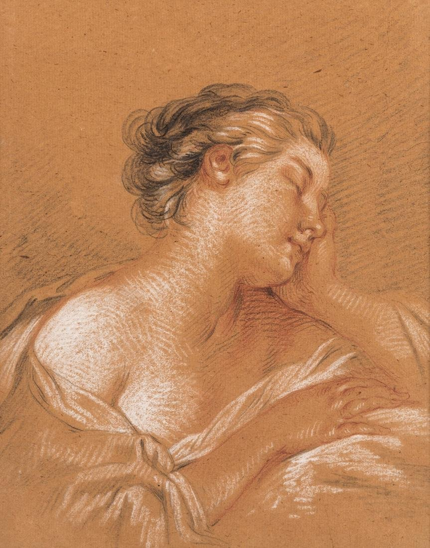 ATTRIBUTED TO FRANCOIS BOUCHER (FRENCH 1703-1770)
