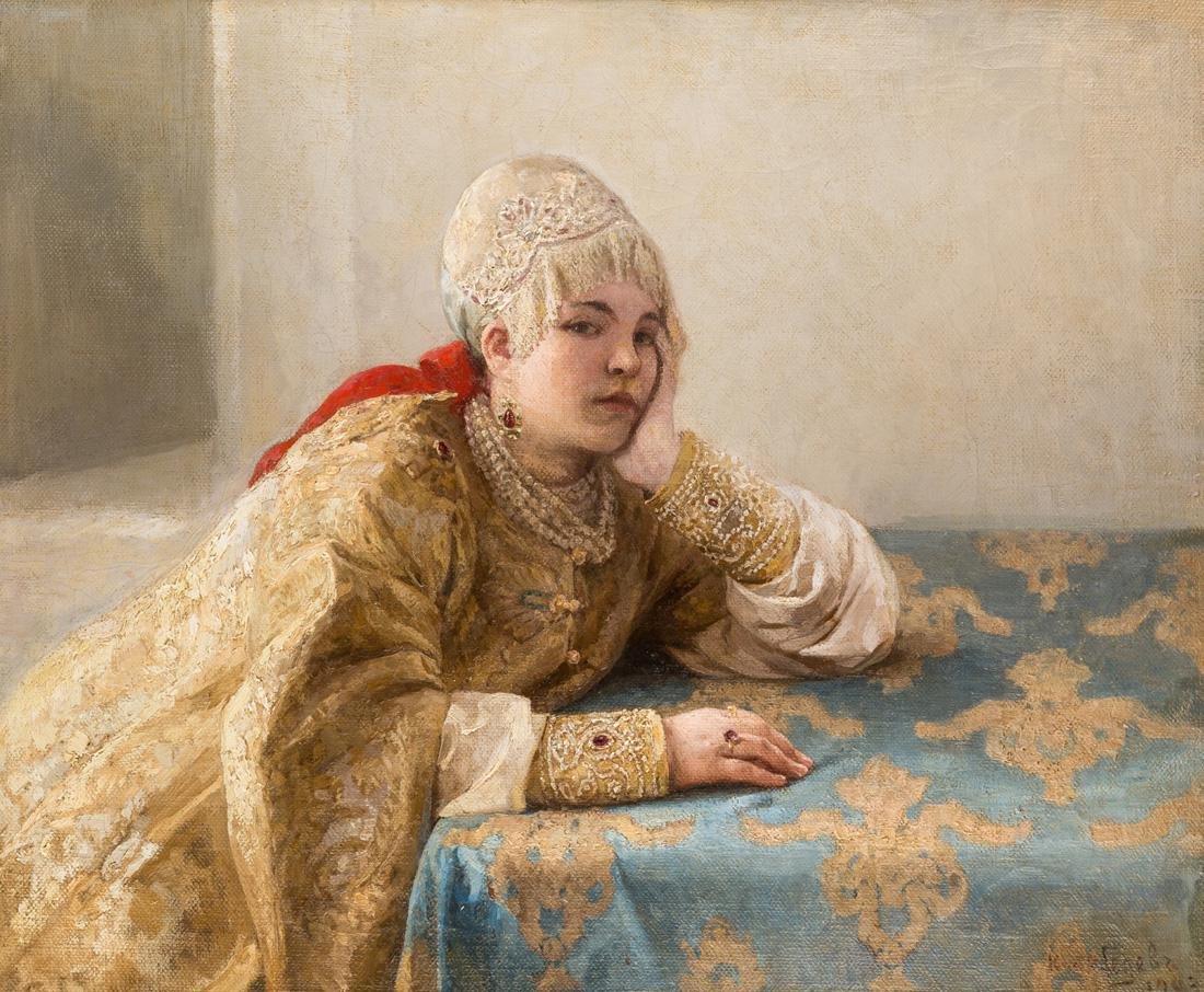 KLAVDI LEBEDEV (RUSSIAN 1852-1916)