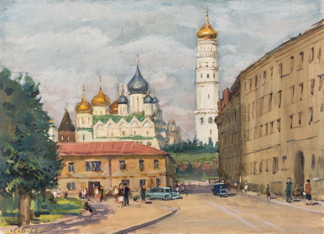 SOLOMON SAMSONOVICH BOIM (RUSSIAN 1899-1978)