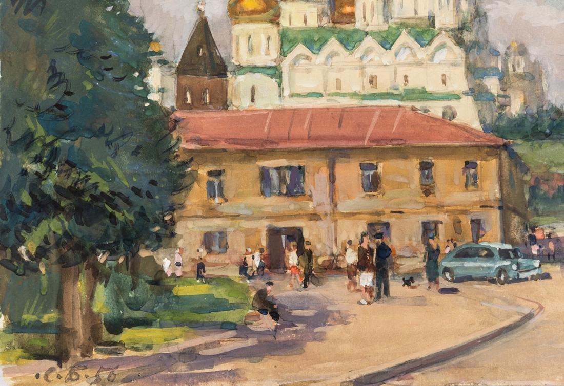 SOLOMON SAMSONOVICH BOIM (RUSSIAN 1899-1978) - 2