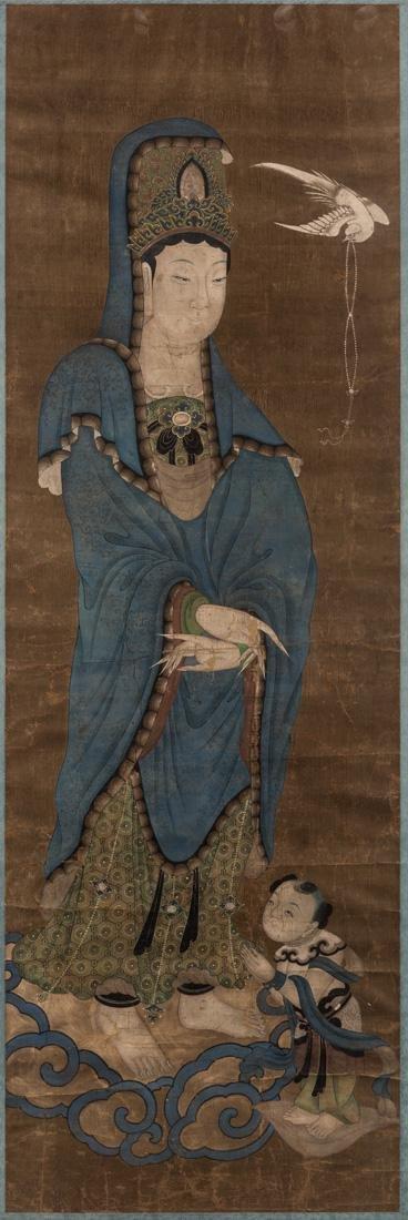 CHINESE LATE 17TH CENTURY